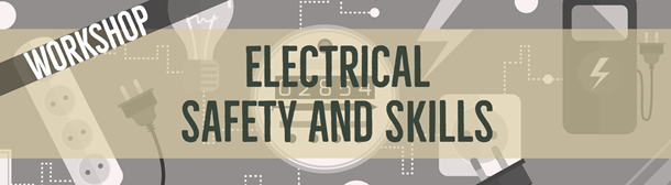 Electrical safety and Skills graphic